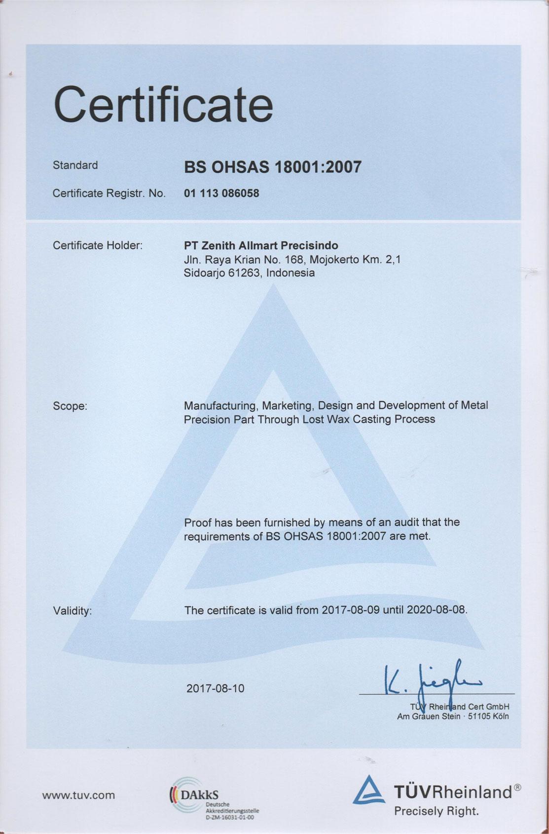 BS-OHSAS-18001-2007