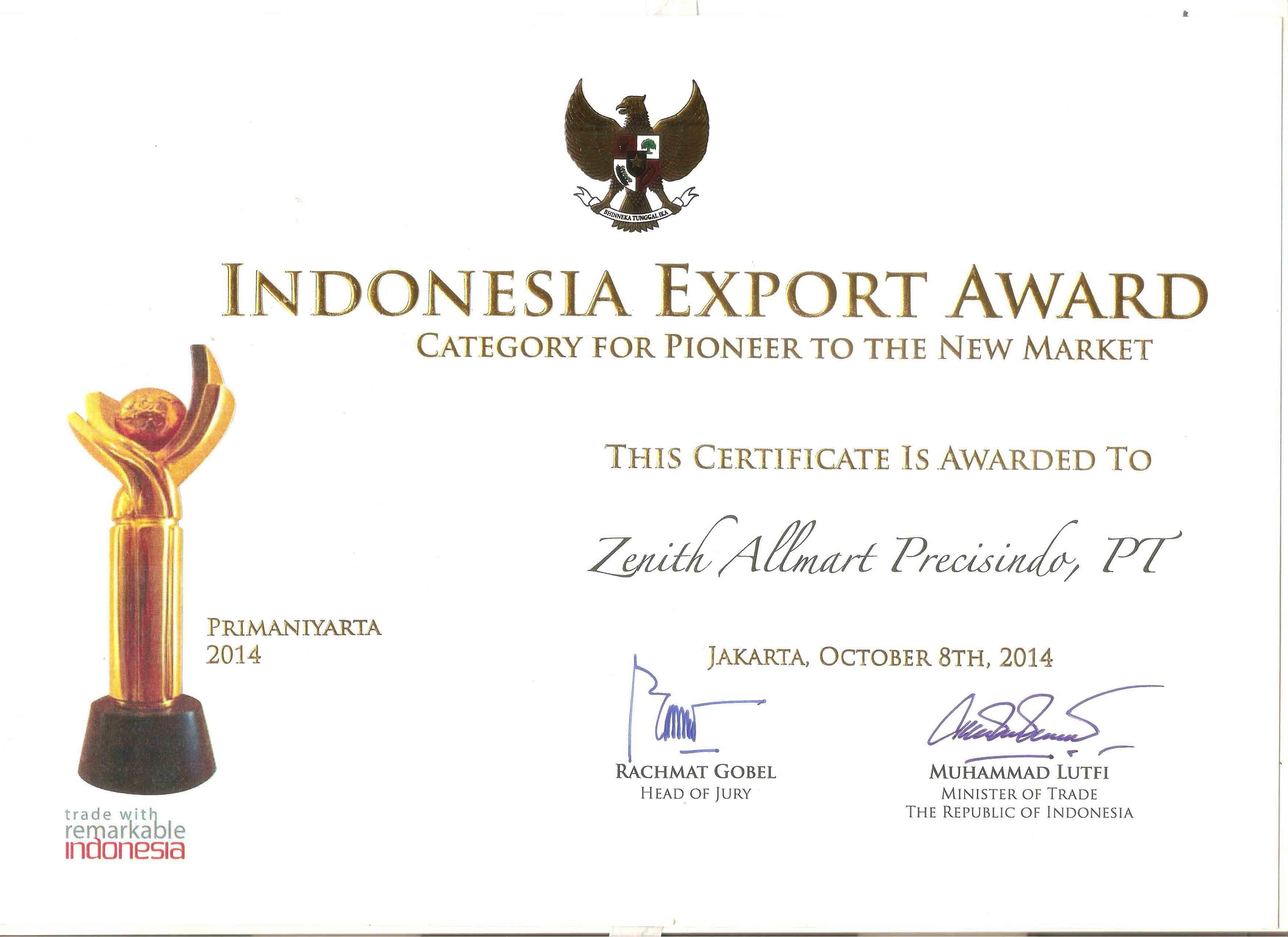 Primanyarta Award 2014