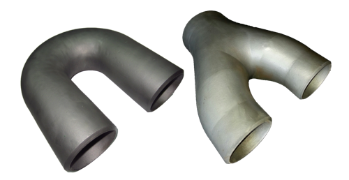 Return Bend Pipe and Y Piece Pipe for Oil Refinery Process