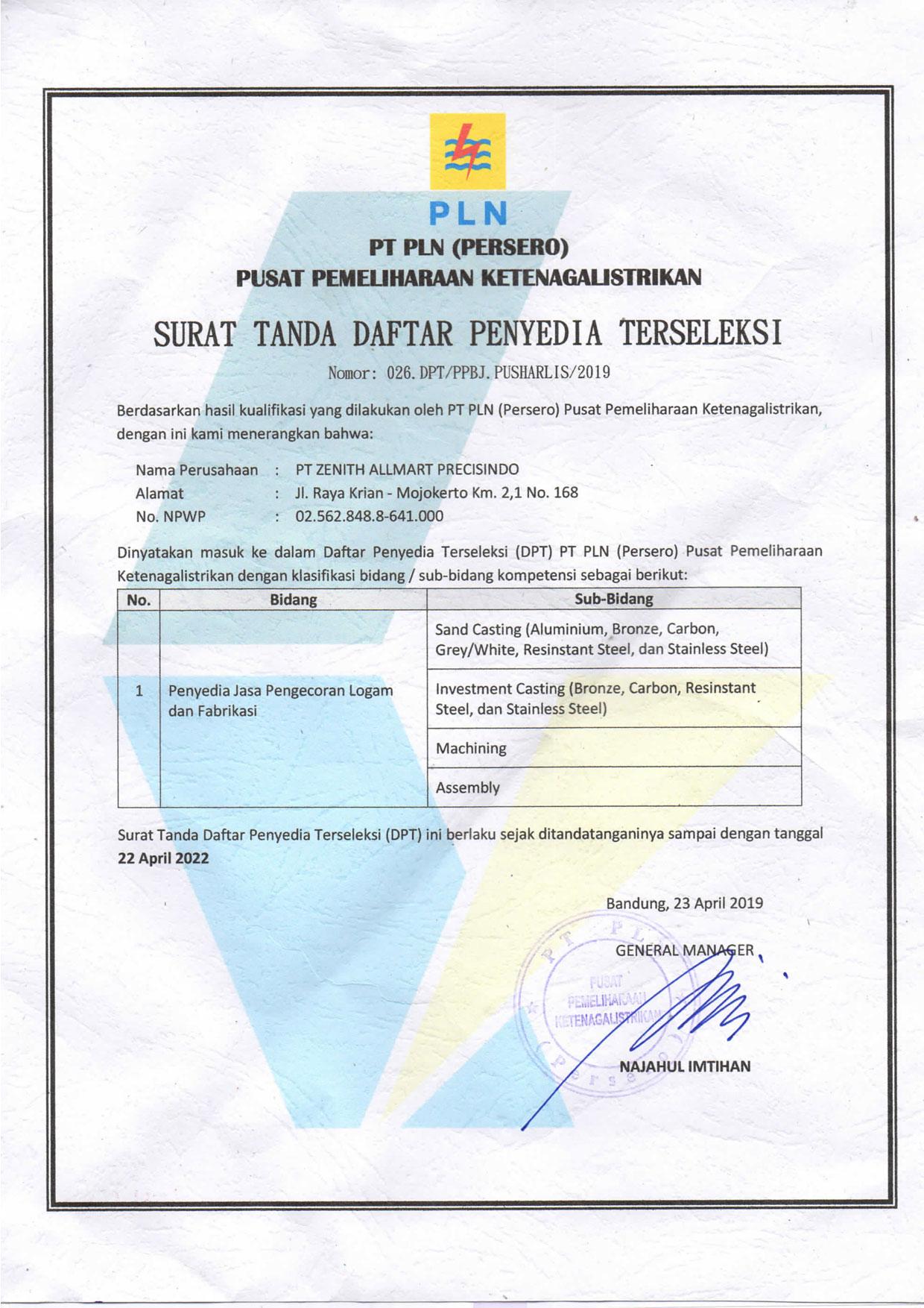 DPT-PLN