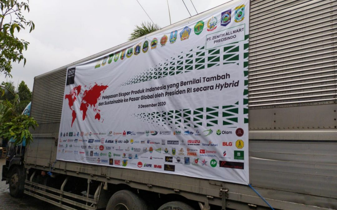 Pelepasan Ekspor Indonesia – Zenith Exports Casting Parts to Global Market