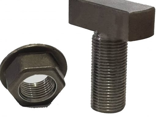 T Bolt and Nut Washer